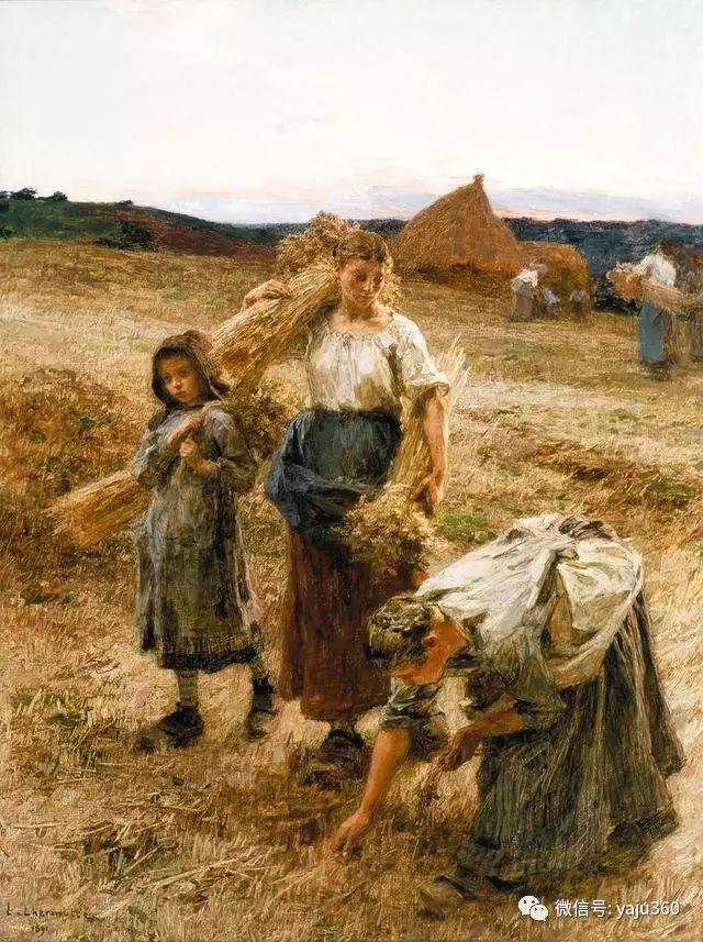 农村生活 法国莱昂油画欣赏插图1