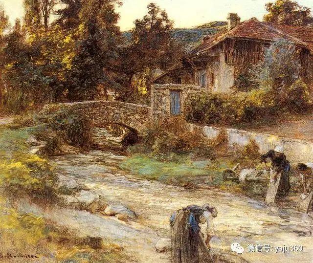 农村生活 法国莱昂油画欣赏插图3