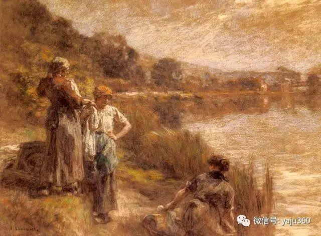 农村生活 法国莱昂油画欣赏插图4