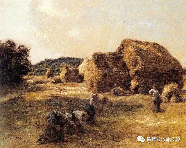 农村生活 法国莱昂油画欣赏插图6
