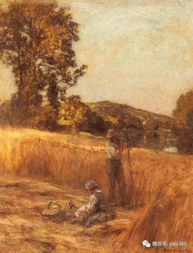 农村生活 法国莱昂油画欣赏插图9