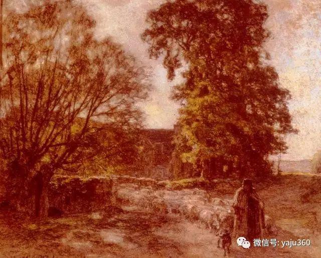 农村生活 法国莱昂油画欣赏插图10