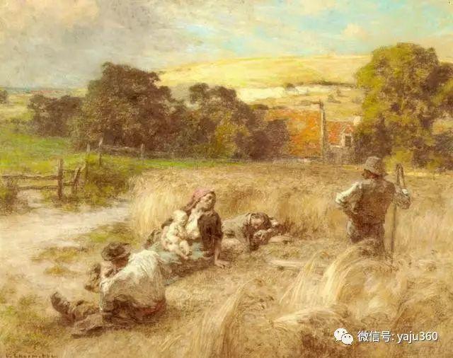 农村生活 法国莱昂油画欣赏插图11