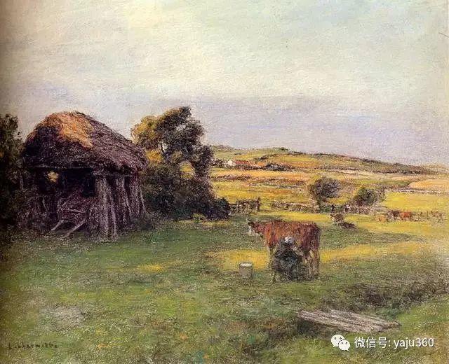 农村生活 法国莱昂油画欣赏插图13