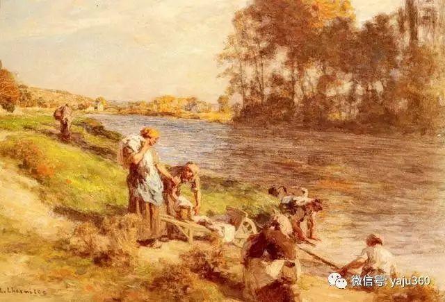 农村生活 法国莱昂油画欣赏插图14