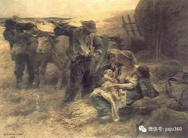 农村生活 法国莱昂油画欣赏插图22