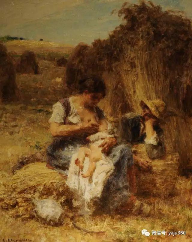 农村生活 法国莱昂油画欣赏插图25