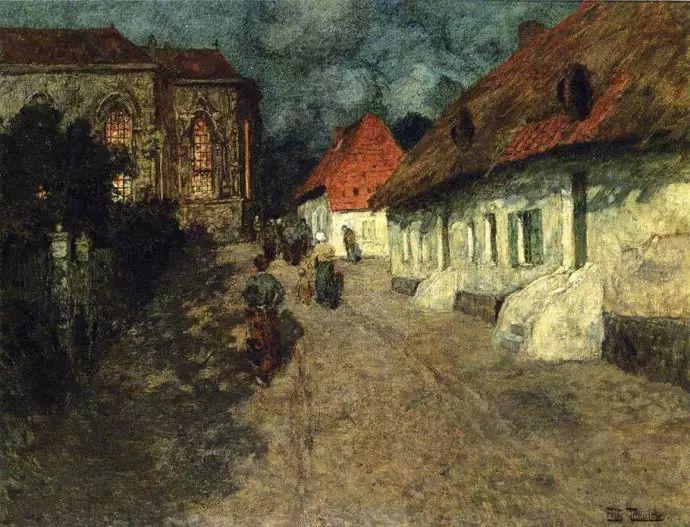 油画世界 挪威约翰·弗雷德里克风景油画插图13