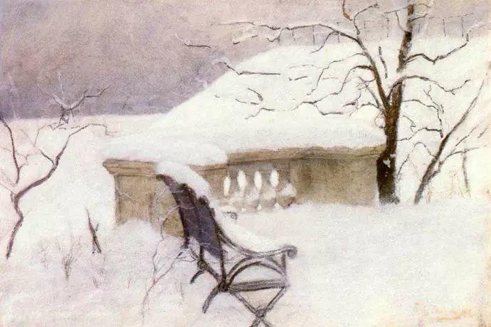 油画世界 挪威约翰·弗雷德里克风景油画插图15
