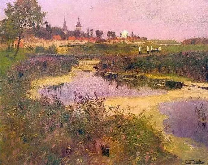油画世界 挪威约翰·弗雷德里克风景油画插图17