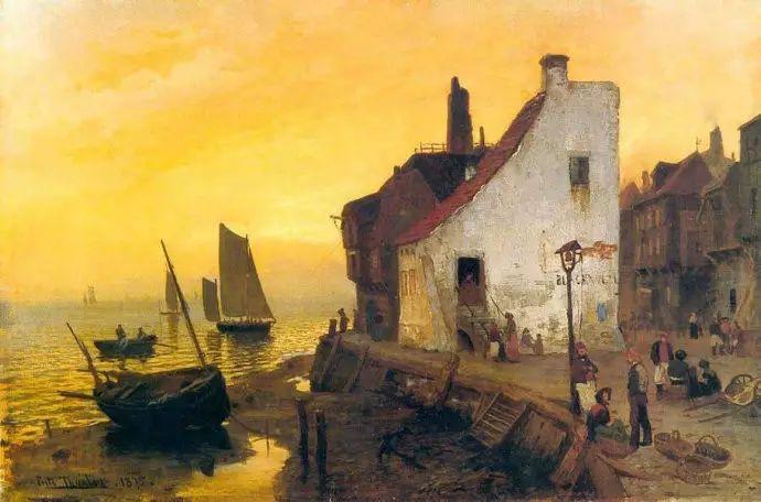 油画世界 挪威约翰·弗雷德里克风景油画插图46