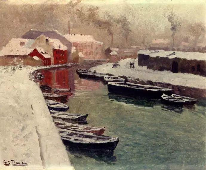 油画世界 挪威约翰·弗雷德里克风景油画插图50