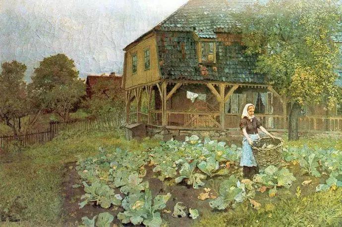 油画世界 挪威约翰·弗雷德里克风景油画插图56