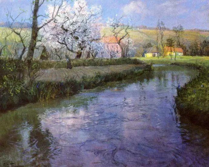 油画世界 挪威约翰·弗雷德里克风景油画插图66