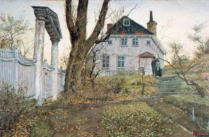 油画世界 挪威约翰·弗雷德里克风景油画插图70