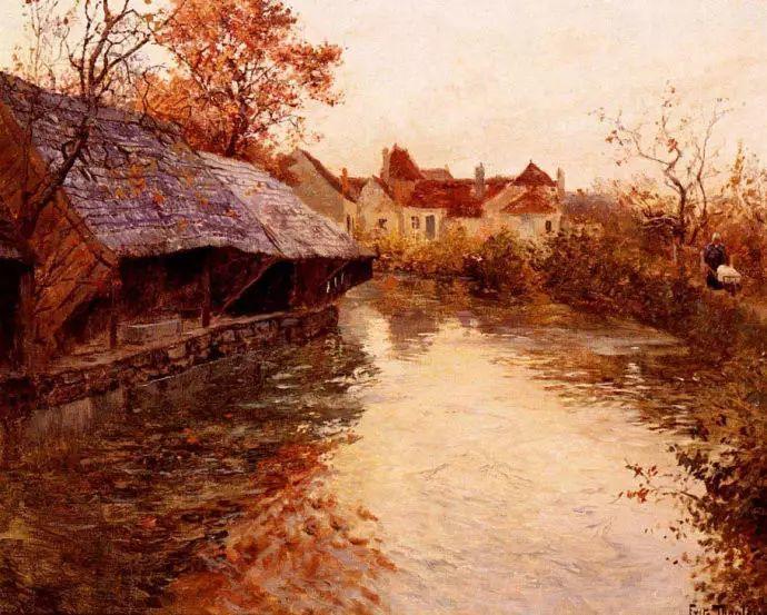 油画世界 挪威约翰·弗雷德里克风景油画插图74