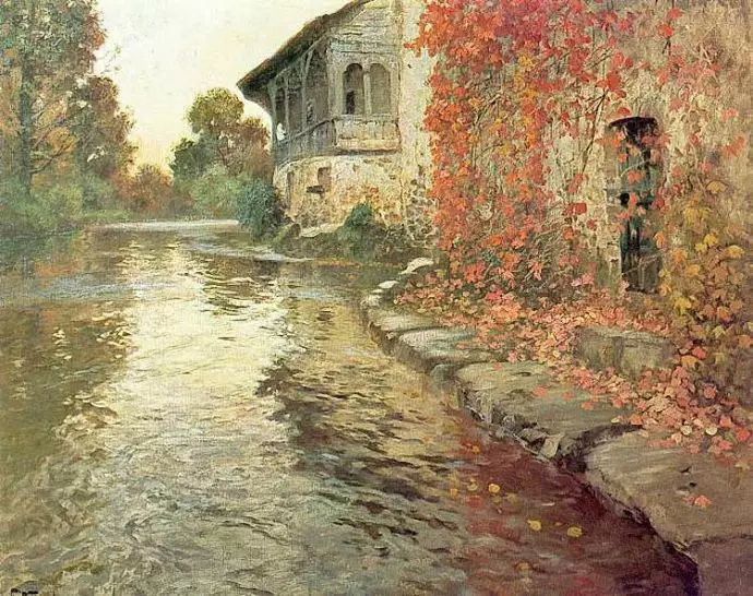 油画世界 挪威约翰·弗雷德里克风景油画插图76