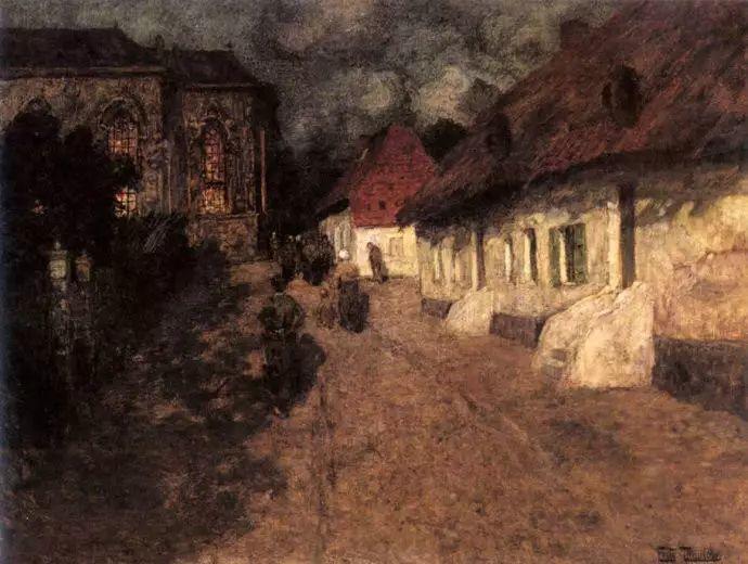 油画世界 挪威约翰·弗雷德里克风景油画插图80