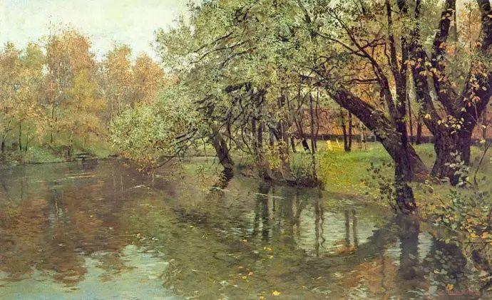 油画世界 挪威约翰·弗雷德里克风景油画插图84