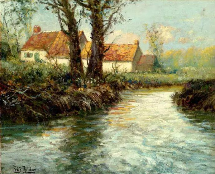 油画世界 挪威约翰·弗雷德里克风景油画插图88