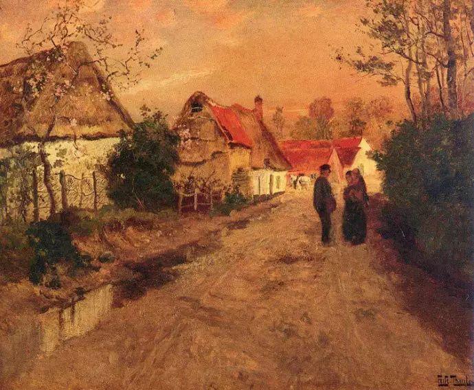 油画世界 挪威约翰·弗雷德里克风景油画插图92