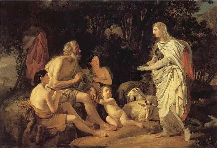俄罗斯卡尔古典油画欣赏插图1