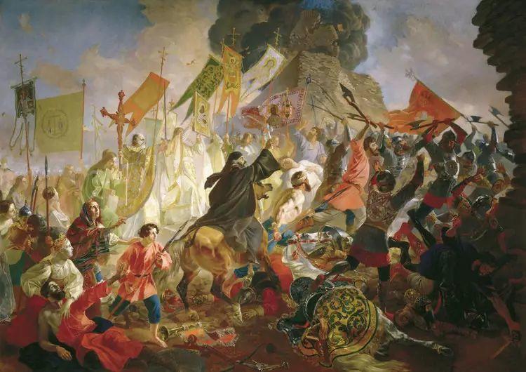 俄罗斯卡尔古典油画欣赏插图5