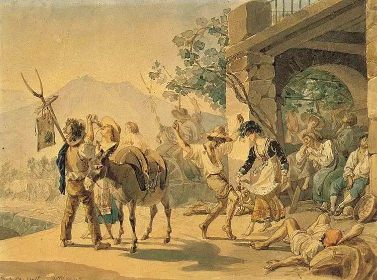 俄罗斯卡尔古典油画欣赏插图9