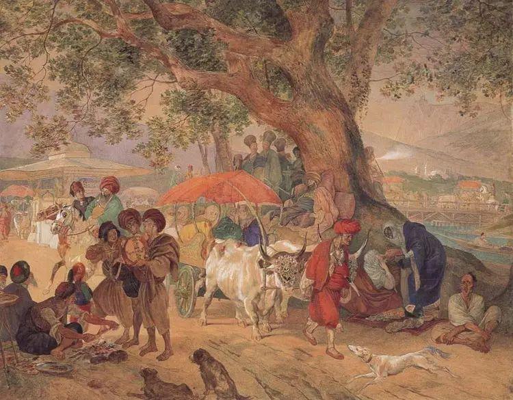 俄罗斯卡尔古典油画欣赏插图13
