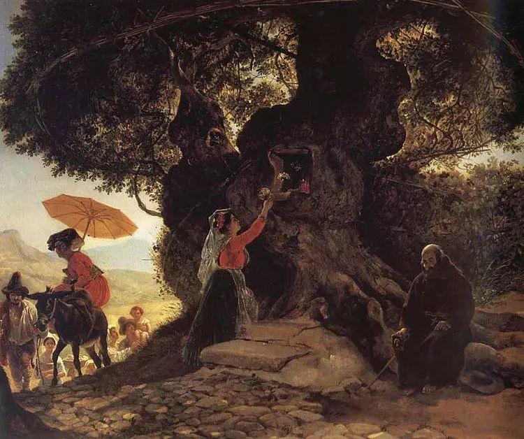 俄罗斯卡尔古典油画欣赏插图25