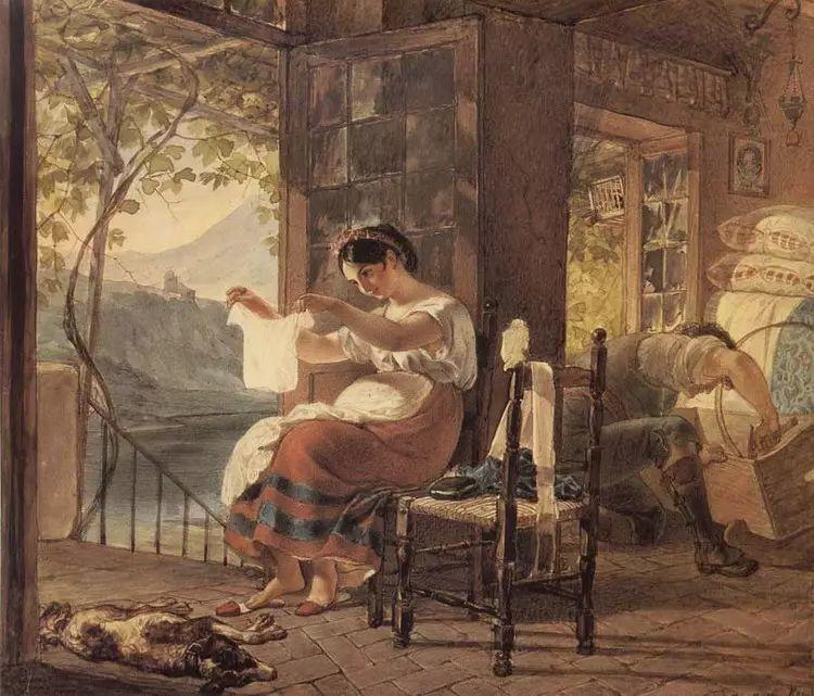 俄罗斯卡尔古典油画欣赏插图27