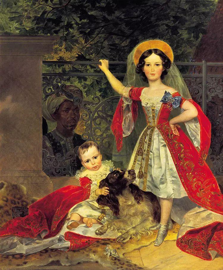 俄罗斯卡尔古典油画欣赏插图47