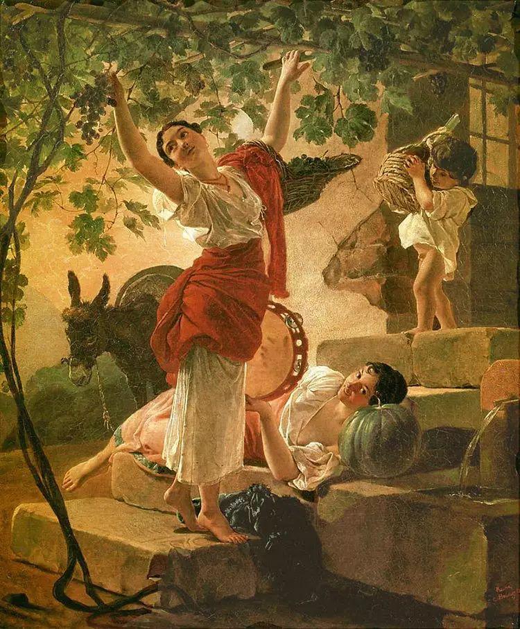 俄罗斯卡尔古典油画欣赏插图49
