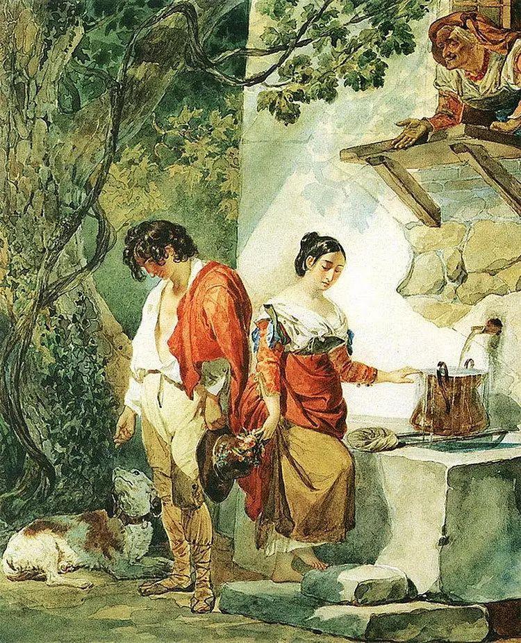 俄罗斯卡尔古典油画欣赏插图61