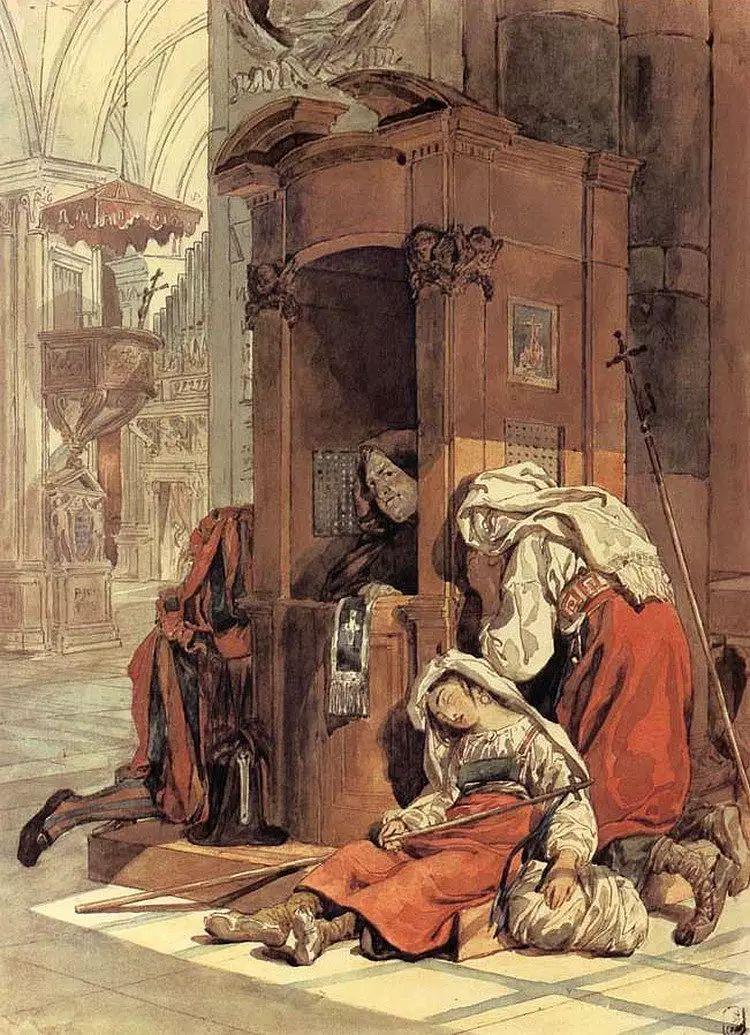 俄罗斯卡尔古典油画欣赏插图93