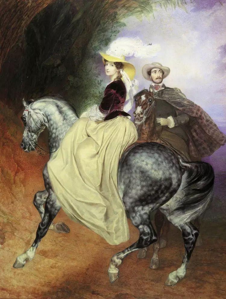 俄罗斯卡尔古典油画欣赏插图97