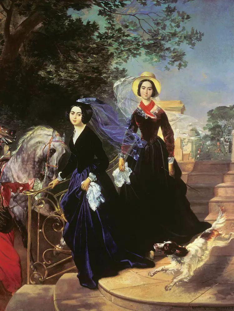 俄罗斯卡尔古典油画欣赏插图99