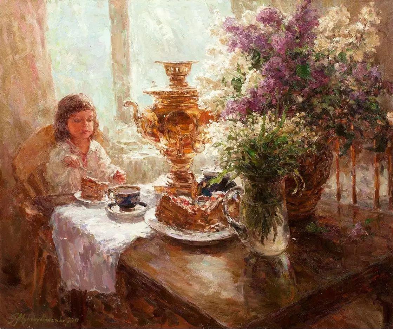 乌克兰谢尔盖·米克尔油画花卉作品插图13