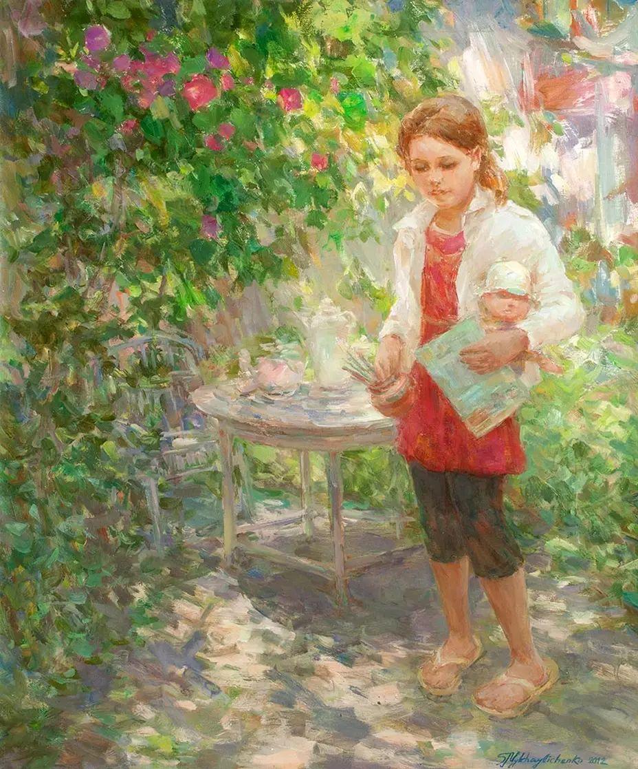 乌克兰谢尔盖·米克尔油画花卉作品插图33