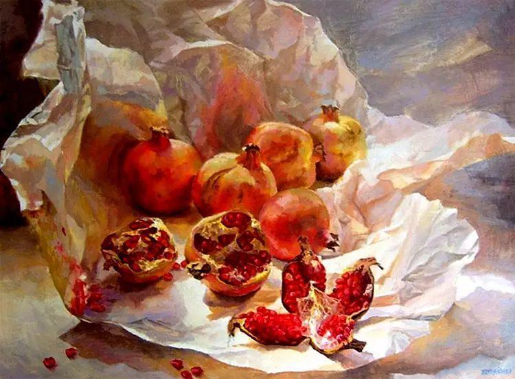 玻利维亚Remy Daza Rojas人物油画作品插图31