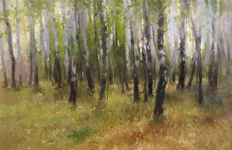 俄罗斯Savchenko Aleksey风景画欣赏插图5