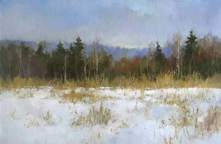 俄罗斯Savchenko Aleksey风景画欣赏插图7