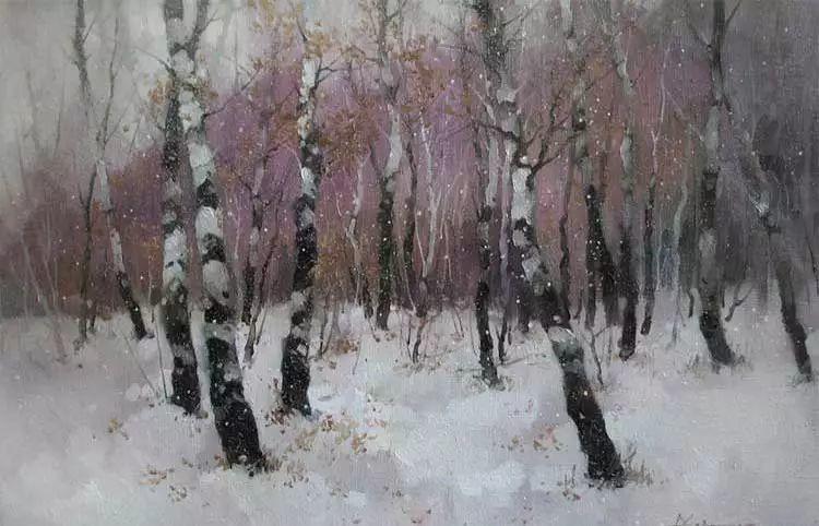 俄罗斯Savchenko Aleksey风景画欣赏插图13