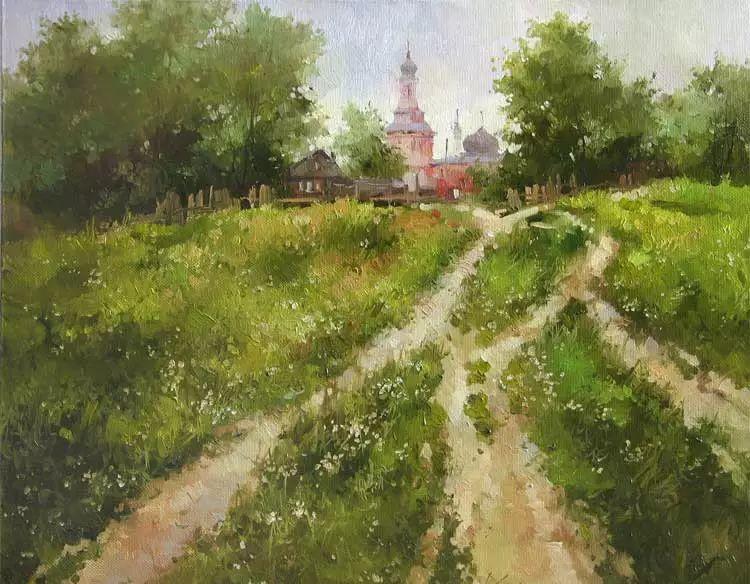 俄罗斯Savchenko Aleksey风景画欣赏插图19
