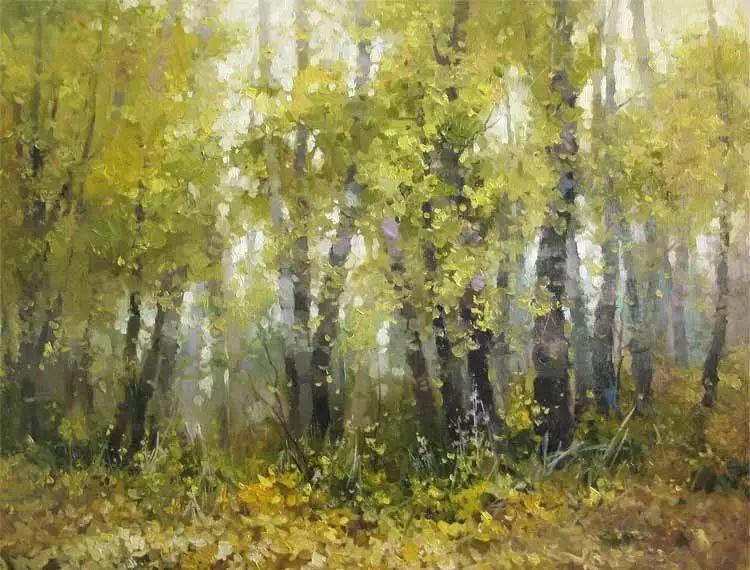俄罗斯Savchenko Aleksey风景画欣赏插图21