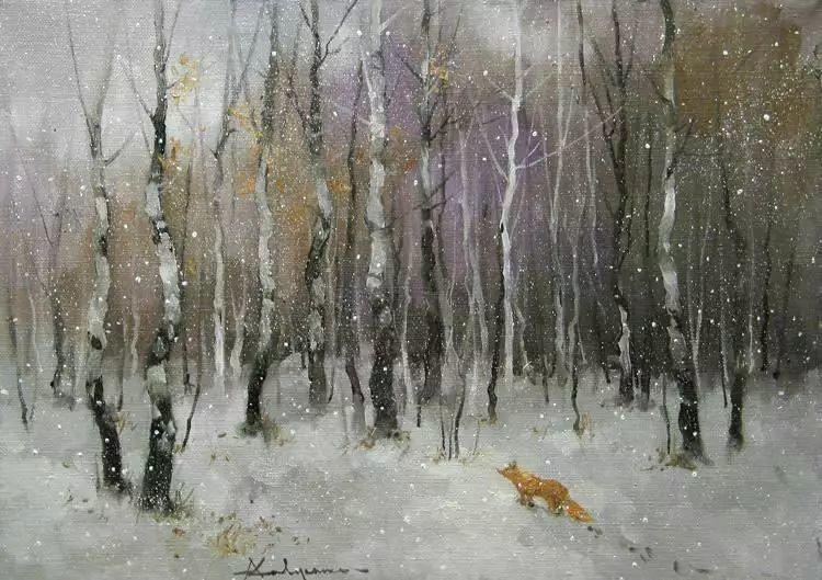 俄罗斯Savchenko Aleksey风景画欣赏插图27