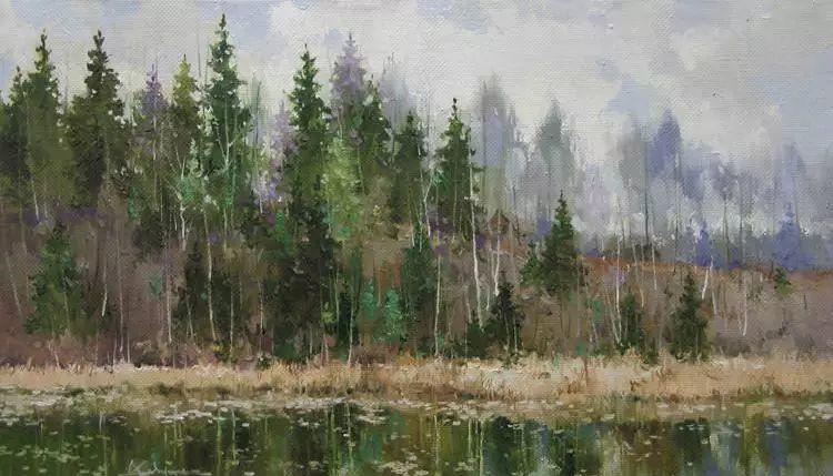 俄罗斯Savchenko Aleksey风景画欣赏插图31