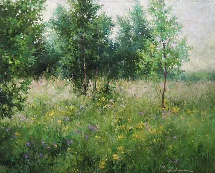 俄罗斯Savchenko Aleksey风景画欣赏插图33
