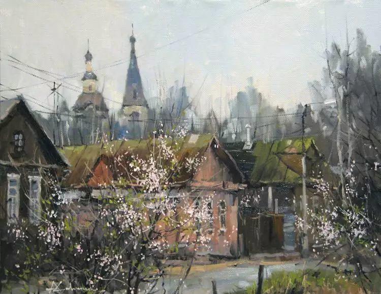 俄罗斯Savchenko Aleksey风景画欣赏插图39