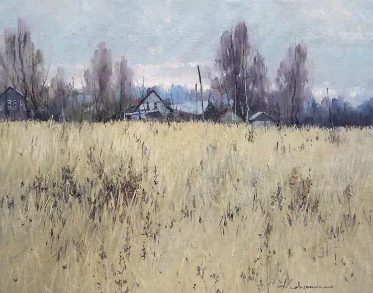 俄罗斯Savchenko Aleksey风景画欣赏插图43